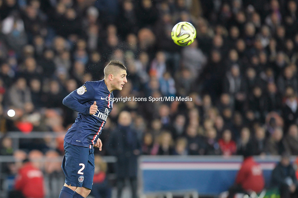 Marco Verratti - 06.12.2014 - PSG / Nantes - 17eme journee de Ligue 1<br />