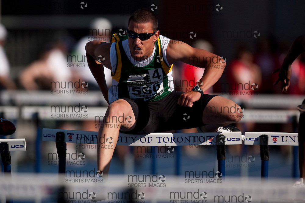 Toronto, Ontario ---26/06/09---  Matthew Brisson competing in  at the Canadian National Track and Field Championships in Toronto, Ontario June 28, 2009..GEOFF ROBINS Mundo Sport Images