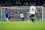 John Terry of Chelsea's own goal during the Barclays Premier League match between Chelsea and Everton at Stamford Bridge, London, England on 16 January 2016. Photo by Salvio Calabrese.