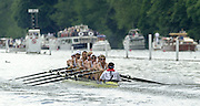 Henley on Thames, United kingdom,  Heat of the Grand Challenge Cup<br /> Victoria RC and University of Victoria - Canada<br /> Possibly Canadian national eight for 2002 [05/07/2002 - Sat].  Annual 2002 Henley Royal Regatta, Henley Reach, River Thames, England, [Mandatory Credit: Peter Spurrier/Intersport Images] 20020703 Henley Royal Regatta, Henley, Great Britain