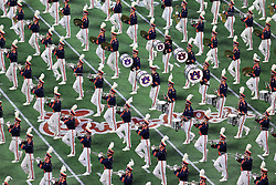 The Auburn Tigers marching band performs during the 2018 Chick-fil-A Peach Bowl NCAA football game on Monday, January 1, 2018 in Atlanta. (Daniel Shirey / Abell Images for the Chick-fil-A Peach Bowl)