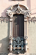 Milano, Lombardia, Italia. Stile liberty. Liberty style. Casa Cambiaghi via Pisacane 18/20