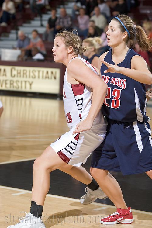 OC Women's Basketball vs Oklahoma Wesleyan.November 3, 2007.83-73 win