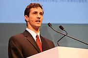 De heer Dom Sagolla, medeoprichter van Twitter houdt woensdag 26 mei een toespraak op de 17e editie van het internationale World Congress on Information Technology (WCIT2010) in de RAI te Amsterdam. Doel van het WCIT2010 is het uitwisselen van idee&euml;n hoe ICT-toepassingen kunnen bijdragen aan oplossingen voor mondiale problemen op economisch en sociaal gebied./////<br /> Mr. Dom Sagolla, co-founder of Twitter is a Wednesday, May 26 speech at the 17th edition of the International World Congress on Information Technology (WCIT2010) at the RAI in Amsterdam. Purpose of the WCIT2010 is to exchange ideas about how ICT applications can contribute to solutions to global problems in economic and social spheres.