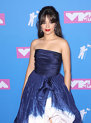 August 21, 2018 - New York City, New York, USA - 8/20/18.Camila Cabello at the 2018 MTV Video Music Awards held at Radio City Music Hall in New York City..(NYC) (Credit Image: © Starmax/Newscom via ZUMA Press)