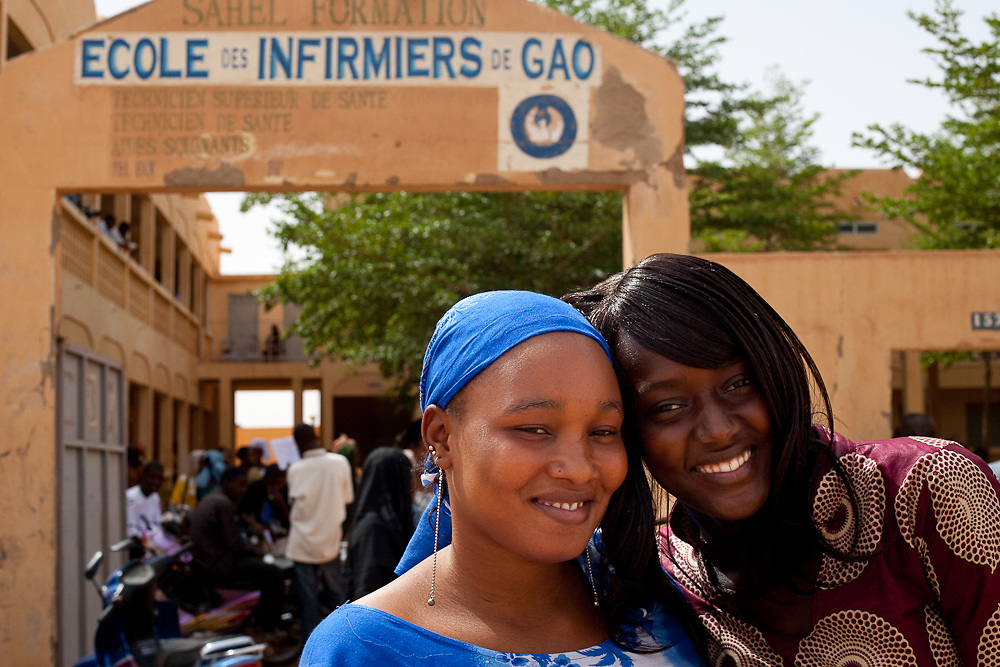Gao Nursing School in Mali.