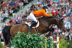 Maikel Van Der Vleuten, (NED), VDL Groep Verdi TN NOP, World Champions, - Second Round Team Competition - Alltech FEI World Equestrian Games™ 2014 - Normandy, France.<br /> © Hippo Foto Team - Leanjo De Koster<br /> 25/06/14