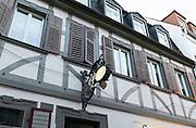 Historische Schubert's Weinstube, Bad Kissingen, Franken, Bayern, Deutschland