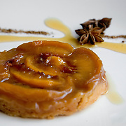 Tarte Tatin by pastry chef Yasmine Sandhu at New Heights restaurant in Washington, DC.