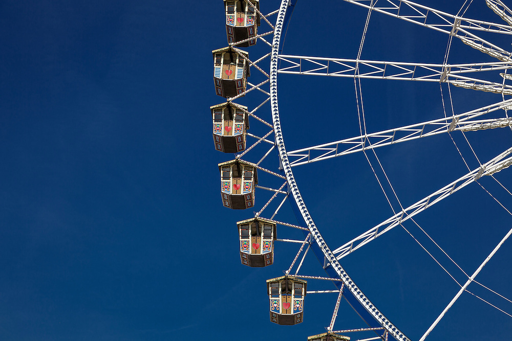 Ferris Wheel at Oktoberfest, Munich, Germany
