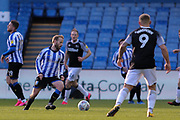 Sheffield Wednesday midfielder Barry Bannan  on the ball  during the EFL Sky Bet Championship match between Sheffield Wednesday and Derby County at Hillsborough, Sheffield, England on 29 February 2020.
