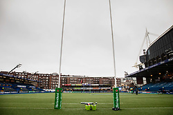 A general view of Cardiff Arms Park, home of Cardiff Blues<br /> <br /> Photographer Simon King/Replay Images<br /> <br /> European Rugby Champions Cup Round 4 - Cardiff Blues v Saracens - Saturday 15th December 2018 - Cardiff Arms Park - Cardiff<br /> <br /> World Copyright © Replay Images . All rights reserved. info@replayimages.co.uk - http://replayimages.co.uk