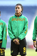 16 October 2014: Shakira Duncan (JAM). The Jamaica Women's National Team played the Martinique Women's National Team at Sporting Park in Kansas City, Kansas in a 2014 CONCACAF Women's Championship Group B game, which serves as a qualifying tournament for the 2015 FIFA Women's World Cup in Canada. Jamaica won the game 6-0.