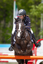 Touw Laurie (NED) - Powergirl<br /> Finale KNHS-Roelofsen Raalte Trophy 2011/2012<br /> Klasse DZZ Lichte Tour<br /> © Dirk Caremans