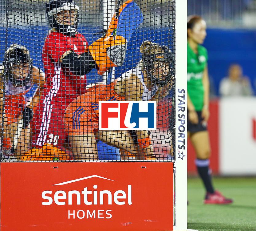 New Zealand, Auckland - 17/11/17  <br /> Sentinel Homes Women&rsquo;s Hockey World League Final<br /> Harbour Hockey Stadium<br /> Copyrigth: Worldsportpics, Rodrigo Jaramillo<br /> Match ID: 10292 - NED vs NZL<br /> Photo: