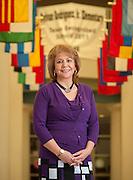 Assistant Principal Maria Espinosa at Rodriguez Elementary School, May 7, 2013.