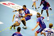 DESCRIZIONE : Handball Tournoi de Cesson Homme<br /> GIOCATORE : FRANCOIS MARIE Jordan<br /> SQUADRA : Selestat<br /> EVENTO : Tournoi de cesson<br /> GARA : Paris Handball Selestat<br /> DATA : 06 09 2012<br /> CATEGORIA : Handball Homme<br /> SPORT : Handball<br /> AUTORE : JF Molliere <br /> Galleria : France Hand 2012-2013 Action<br /> Fotonotizia : Tournoi de Cesson Homme<br /> Predefinita :