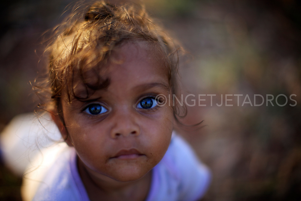 Aboriginal girl<br />