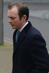 Former Barclays traders Trial. Jonathan Mathew arrives Southwark Crown Court, Southwark Crown Court, London, United Kingdom. Monday, 3rd March 2014. Picture by Peter Kollanyi / i-Images