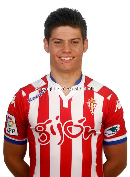 Spain - Liga BBVA 2015-2016 / <br /> ( Real Sporting de Gijon ) - <br /> Jorge Mere Perez