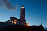 Mayor cape lighthouse, Santander, Cantabria, Spain