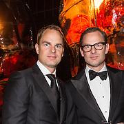 NLD/Amsterdam /20131212 - Vipnight Master of LXRY 2013 opening, Frank en Ronald de Boer