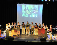 """Ole Miss students perform Price Walden's """"Leaves of Green"""" opera at the Southern Foodways Alliance's 2011 """"Cultivated South"""" Symposium at the Lyric in Oxford, Miss. on Sunday, October 30, 2011."""