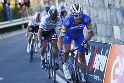 March 23, 2019 - Sanremo, Italy - French Julian Alaphilippe of Deceuninck - Quick-Step and Slovakian Peter Sagan of Bora-Hansgrohe ride the 110th edition of the 'Milano-Sanremo' one day cycling race, 294 km from Milan to Sanremo, Italy, Saturday 23 March 2019. (Credit Image: © Yuzuru Sunada/Belga via ZUMA Press)