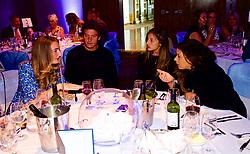 LIVERPOOL, ENGLAND - Saturday, June 23, 2018: Guests at the Hilton Hotel during day three of the Williams BMW Liverpool International Tennis Tournament 2018 at Aigburth Cricket Club. (Pic by Paul Greenwood/Propaganda) Alessandro Giannessi (ITA) Corinna Dentoni (ITA) Marion Bartolli (FRA)