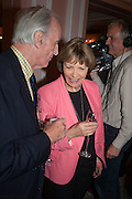 DR. TOM STUTTAFORD; JOAN BAKEWELL, The Oldie - 20th anniversary party. Simpson's-in-the-Strand, 100 Strand, London, WC2. 19 July 2012