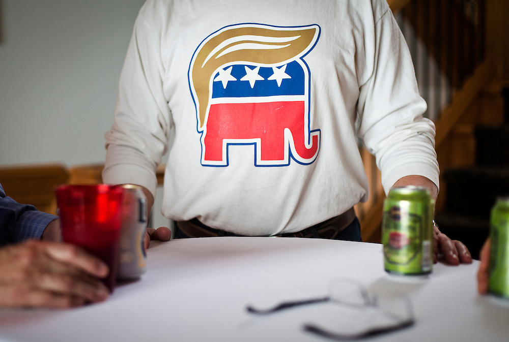 REEDSBURG, WI – JANUARY 20: Sauk County Republicans gathered at the Inn at Wawanissee Point for a Presidential Inauguration watch party on January 20, 2017.