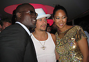 Djimon Hounsou, Kid Rock, Kimora Lee Simmons, .Grisogno Party.Hotel Du Cap - 2007 Cannes Film Festival .Cap D'Antibes, France .Tuesday, May 22, 2007.Photo By Celebrityvibe; .To license this image please call (212) 410 5354 ; or.Email: celebrityvibe@gmail.com ;