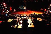 ©Naki Kouyioumtzis/ PYMCA<br />turntables at UK B-Boy Championships