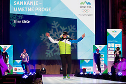 Tilen Sirse during the outfitting of the Slovenian Olympic Team for PyeongChang 2018, on January 29, 2018 in GH Union, Ljubljana, Slovenia. Photo by Urban Urbanc / Sportida