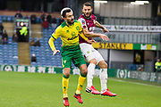 Norwich City midfielder Lukas Rupp (7) in a challenge with Burnley defender Erik Pieters (23)  during the The FA Cup match between Burnley and Norwich City at Turf Moor, Burnley, England on 25 January 2020.