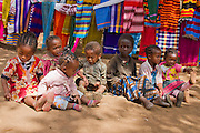 Dorze Children in Chencha, Omo Valley, Ethiopia