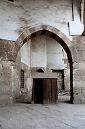Egypt. Cairo -Mosque AMIR Aq Sunqur - blue mosque- in Darb al Ahmar  street, islamic Cairo    NM123 +