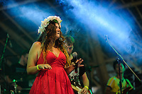 Norma Jean Performing at the SoulShine Festival. Ubud, Bali, Indonesia, 28/12/2013.