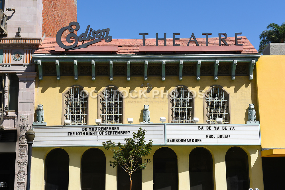 Historic Edison Theatre in Long Beach