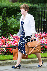 Downing Street, London, July 5th 2016. Leader of the House of Lords, Baroness Tina Stowell arrives at 10 Downing Street for the weekly cabinet meeting