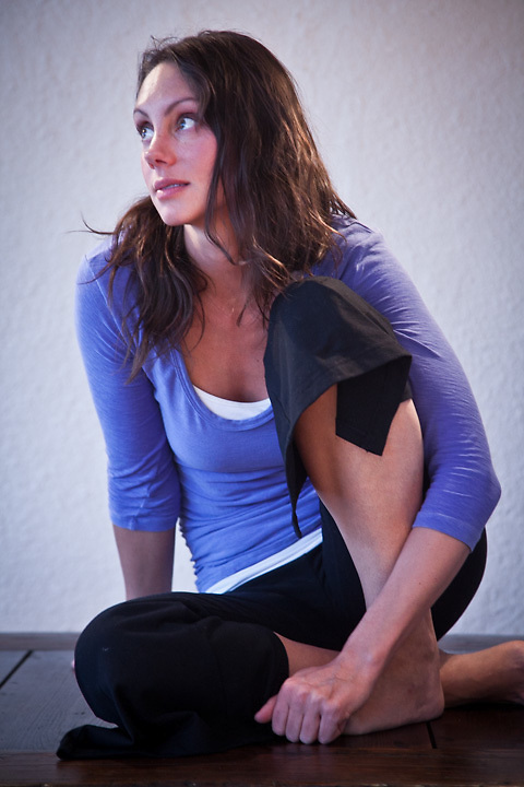 Tara O'Hanley, Solo Yoga, Anchorage