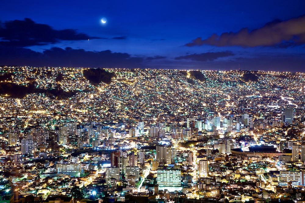 Panorámica - La Paz, Bolivia