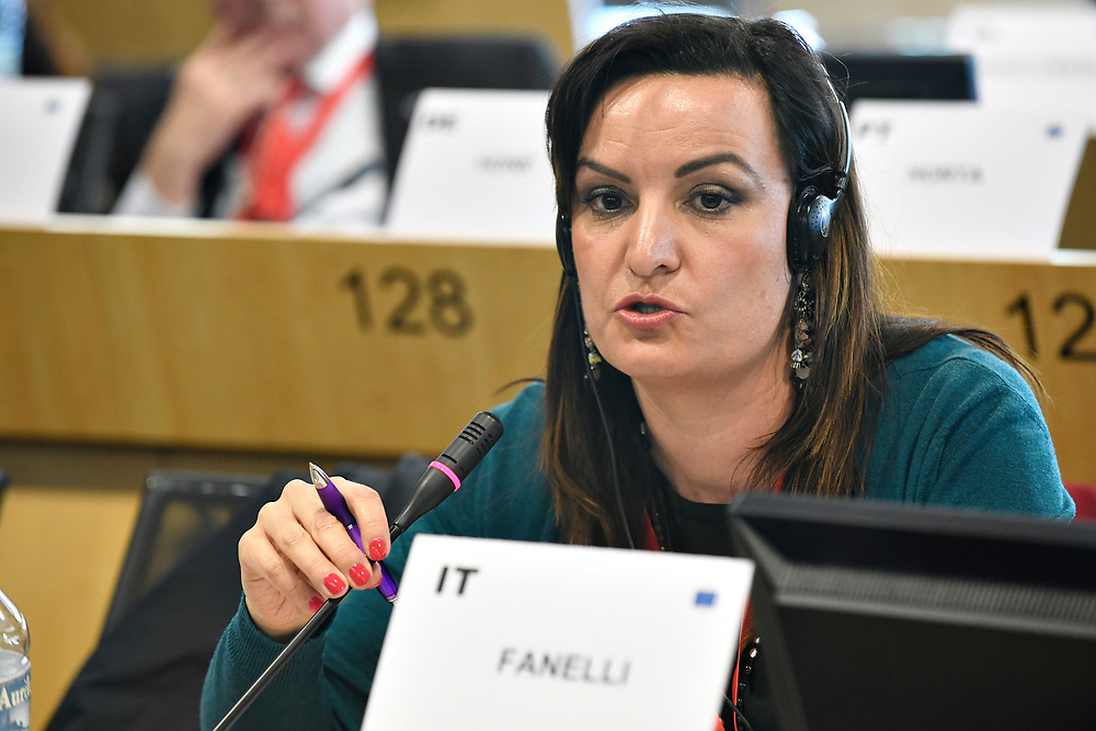 11 May 2017, PES Group meeting<br /> Belgium - Brussels - May 2017 <br /> FANELLI	Micaela<br /> &copy; European Union / Photographer