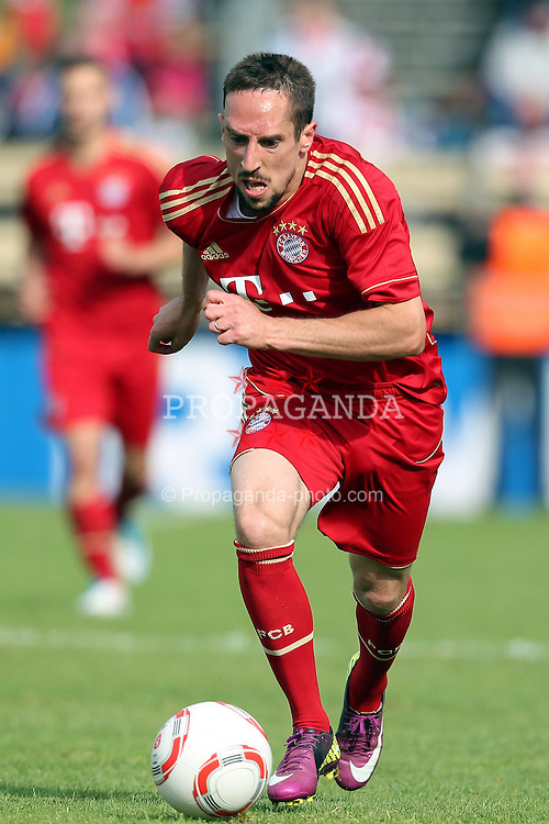15.05.2010,  Stadion Langerwehe, Langerwehe, GER, FSP, Stadtauswahl Dueren vs FC Bayern Muenchen, im Bild: Franck Ribery (Muenchen #7)  EXPA Pictures © 2011, PhotoCredit: EXPA/ nph/  Mueller       ****** out of GER / SWE / CRO  / BEL ******