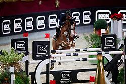 Offel Katharina, (UKR), Umeunig<br /> MEVISTO Amadeus Horse Indoor Salzburg<br /> © Hippo Foto - Stefan Lafrentz<br /> 11-12-2016