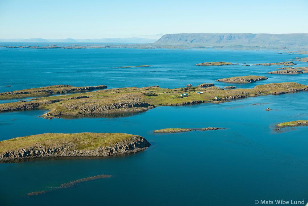 Hvammsfjörður séð til norðnorðvesturs, Dalabyggð áður Skógarstrandarhreppur  /  Hvammsfjordur viewing northnorthwest, Dalabyggd former Skogarstrandarhreppur.