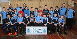 Westport U12 B Division 1 League Winners<br />
