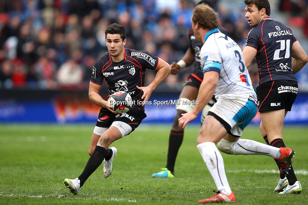 Sebastien Bezy - 14.03.2015 - Toulouse / Montpellier - 20e journee Top 14<br /> Photo : Manuel Blondeau / Icon Sport