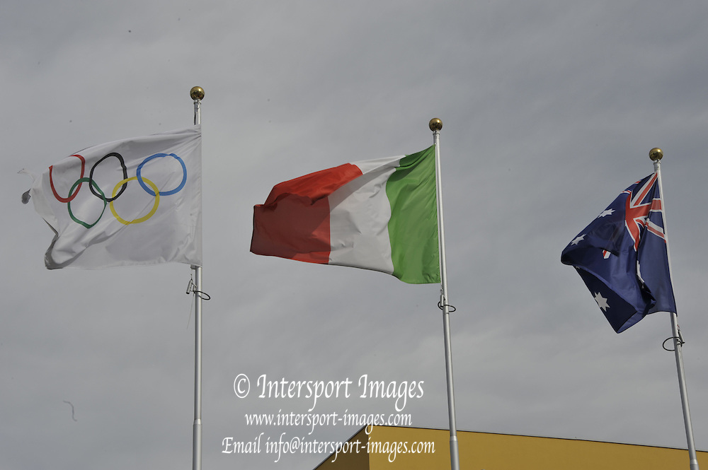 Varese,  ITALY. 2012 FISA European Championships, Lake Varese Regatta Course. ..General Views of the Australian Institute of Sport European Training Centre. Gavirate ..10:59:08  Thursday  13/09/2012 .....[Mandatory Credit Peter Spurrier:  Intersport Images]  ..2012 European Rowing Championships ..Rowing, European,  2012 010590.jpg.....