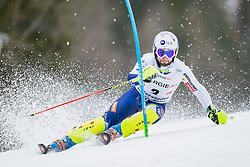 01.03.2020, Hannes Trinkl Weltcupstrecke, Hinterstoder, AUT, FIS Weltcup Ski Alpin, Alpine Kombination, Herren, Slalom, im Bild Martin Cater (SLO) // Martin Cater of Slovenia in action during his Slalom run of men's Alpine combined of FIS ski alpine world cup at the Hannes Trinkl Weltcupstrecke in Hinterstoder, Austria on 2020/03/01. EXPA Pictures © 2020, PhotoCredit: EXPA/ Johann Groder